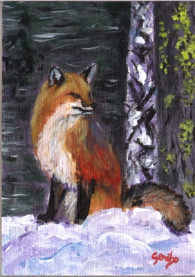 red-fox-in-a-pose-painting-by-artist-dj-geribo.jpg